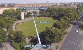 tunel aeropuerto